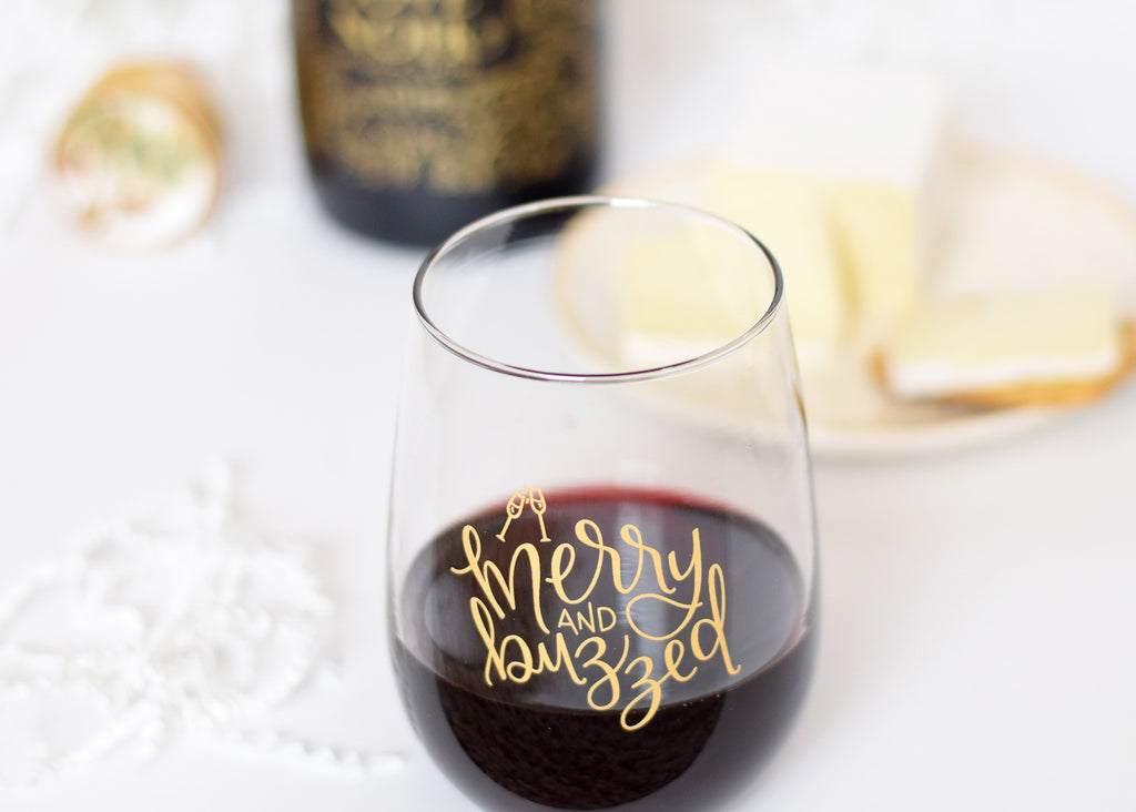 IMPERFECT Wine Glass // Merry & Buzzed