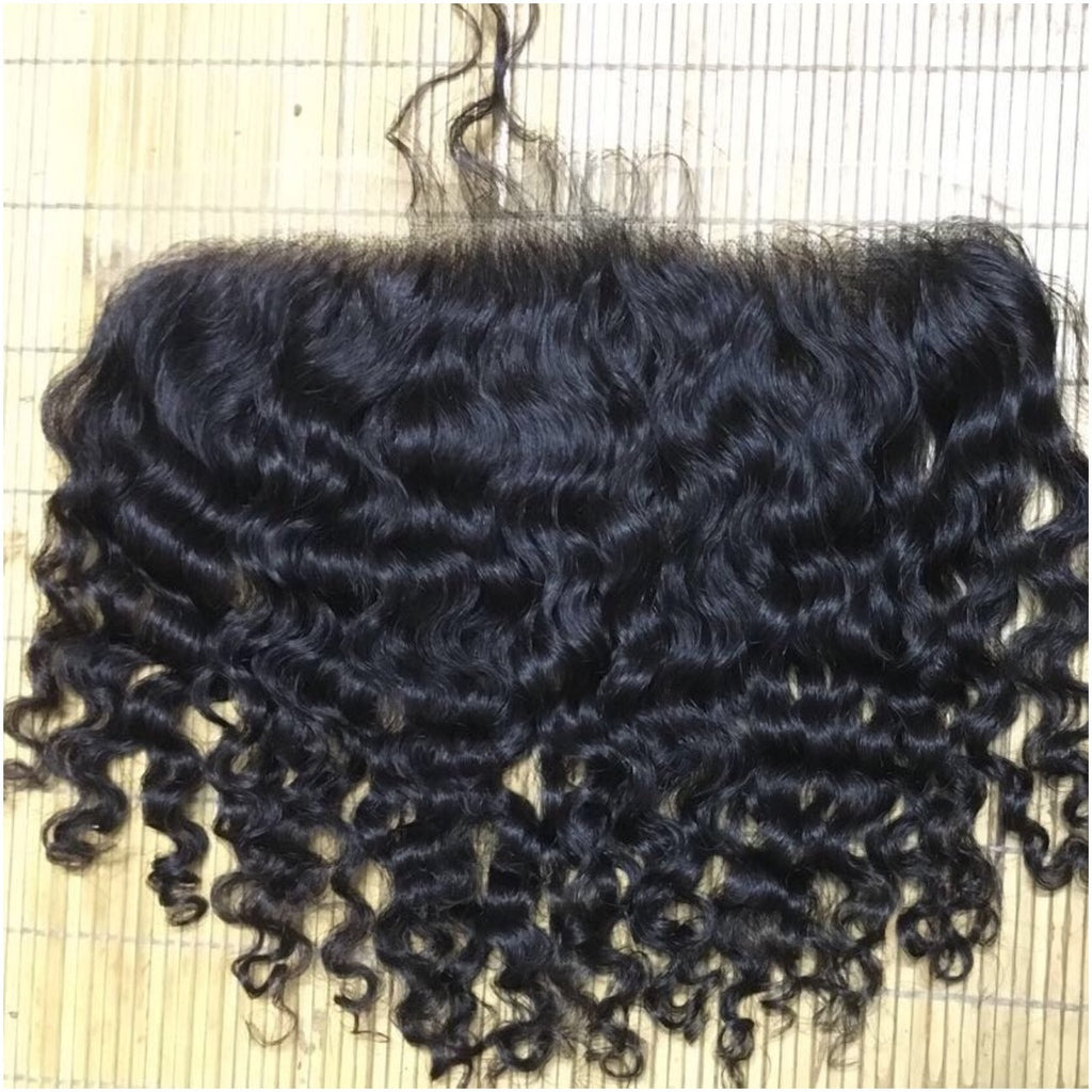 Raw Burmese Lace Frontal 13x4""