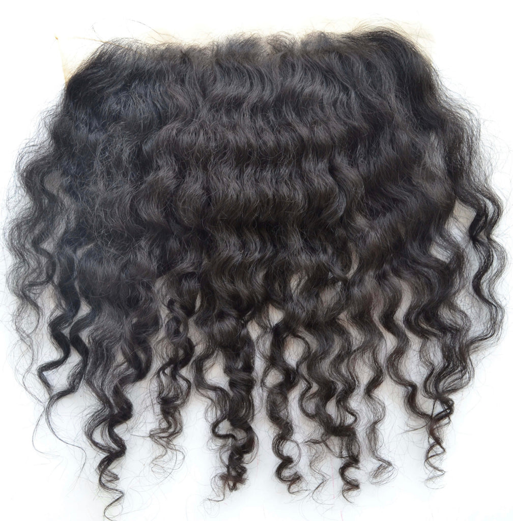 Indian Natural Curly Frontal