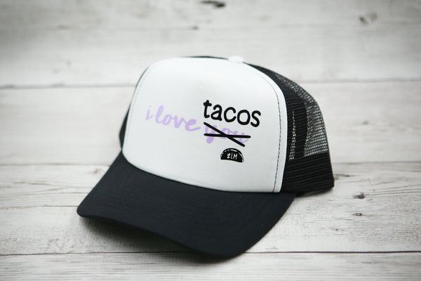 I Love You (Tacos) Script Hat