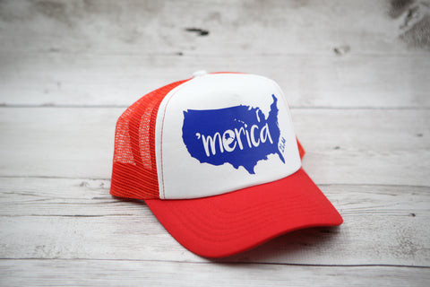 'Merica Outline Hat