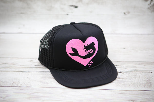 Kids Mermaid Gliding Heart Hat