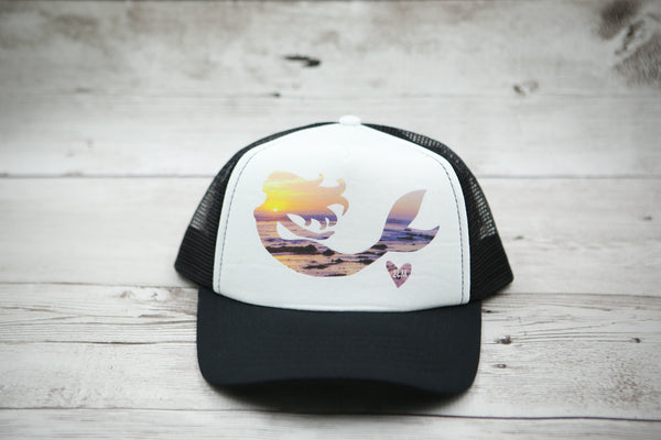 Sunset Mermaid Hat