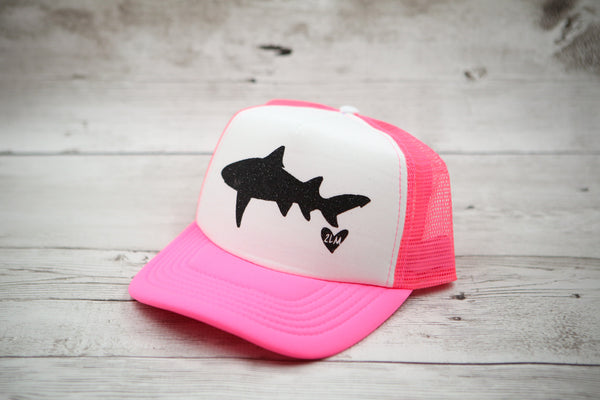 Shark Hat (with heart)