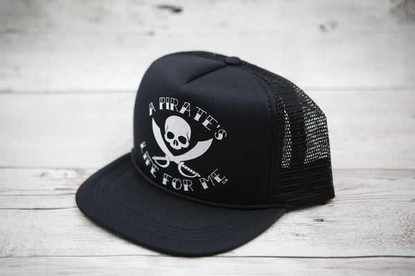 Kids Pirate's Life for Me Hat
