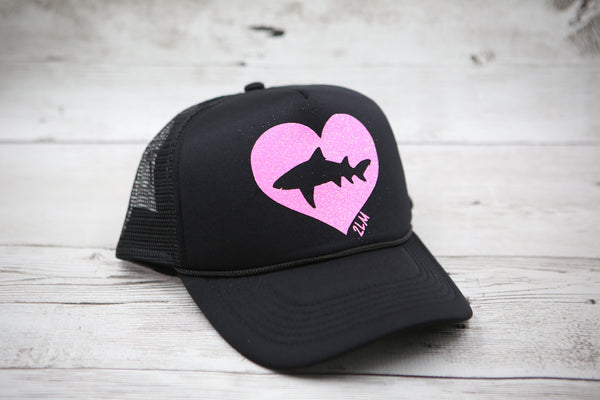 Shark Heart Hat