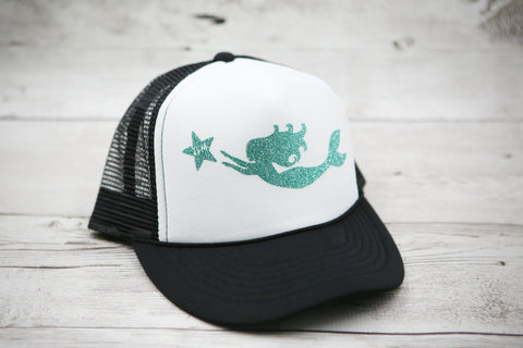 Kids Mermaid And Starfish Hat