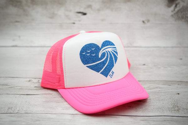 The Peak Heart Hat