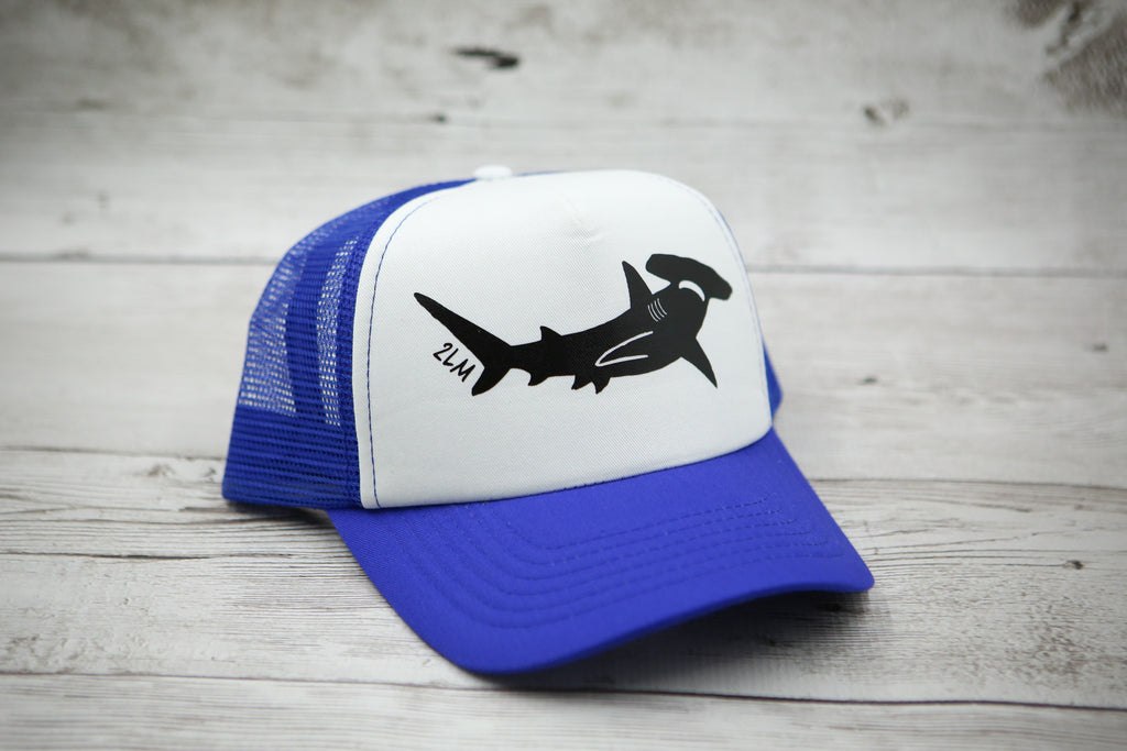 Kids Hammerhead Shark Hat (no heart)