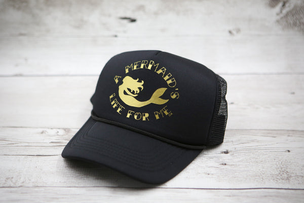 A Mermaid's Life for Me Hat