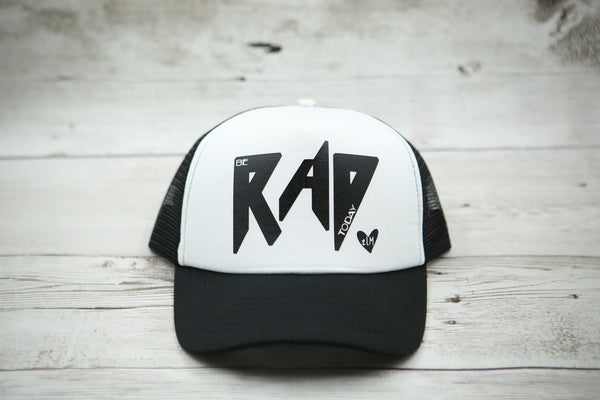 Be Rad Today (with heart) Hat
