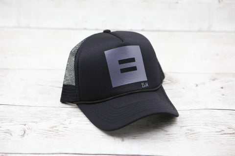 Kids Equality yo (Square) Hat