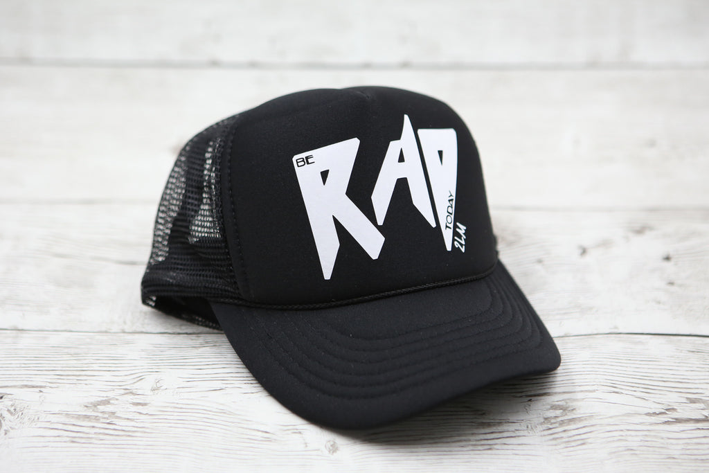 Kids Be Rad Today (no heart) Hat