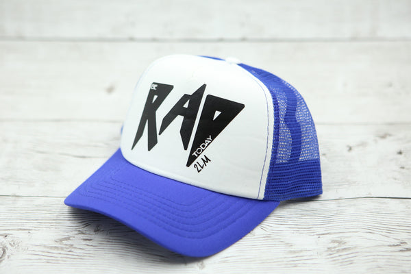 Be Rad Today (no heart) Hat