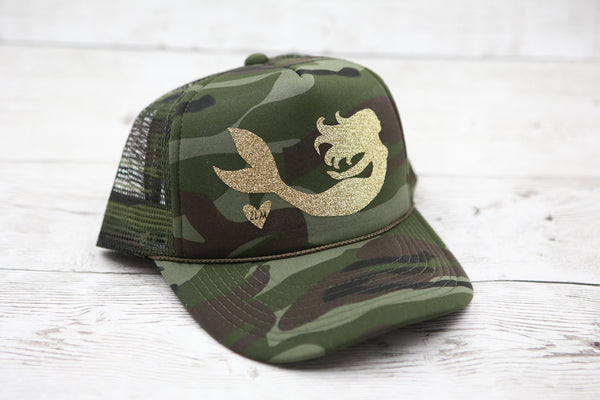 Camo Mermaid Gliding Hat
