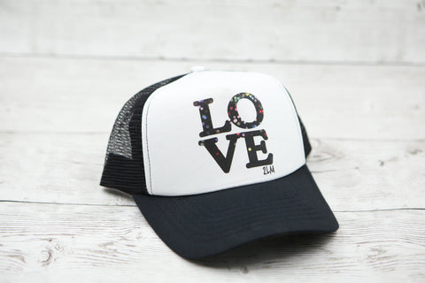 Bokeh Love Hat