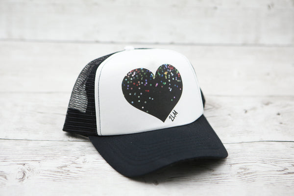 Bokeh Heart Hat