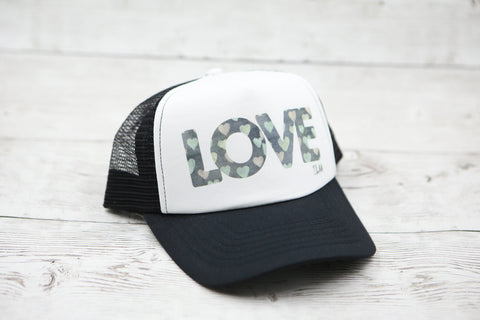 Love and Hearts Hat