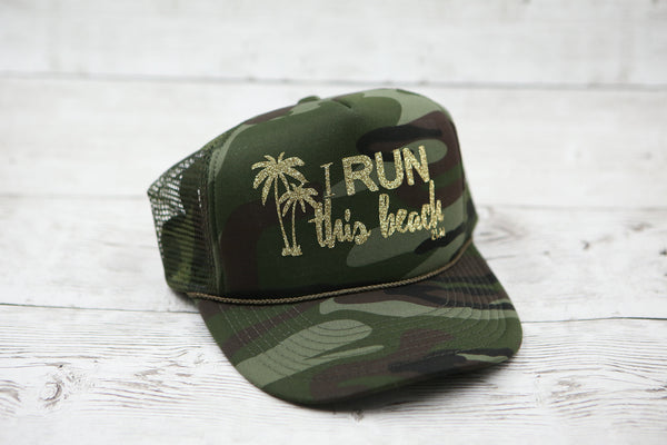 I RUN This Beach Hat