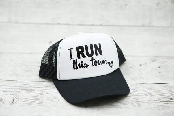I RUN This Town Hat