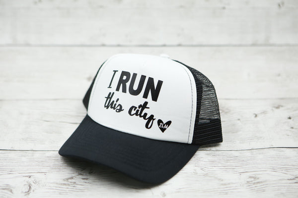 I RUN This City Hat