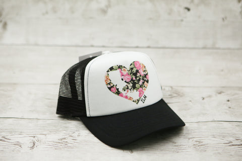 California Love Floral Hat