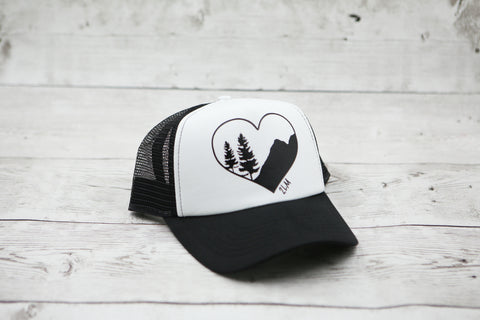 Mountain Love Hat