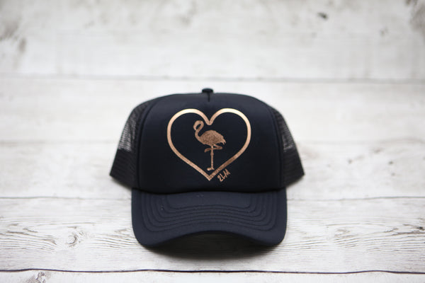 Flamingo Love Hat