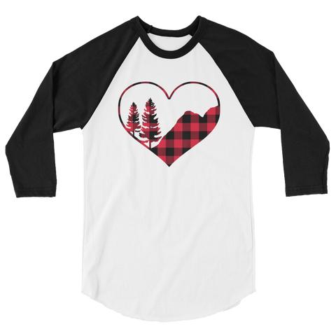 Ready to Ship Mountain Love Raglan