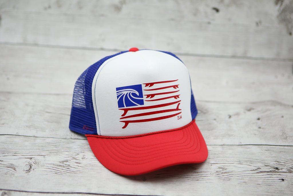 Surf Flag Hat