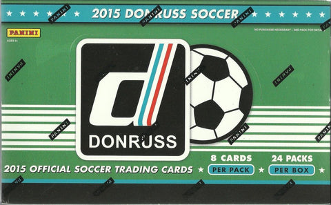 2015 Donruss Soccer Hobby Box