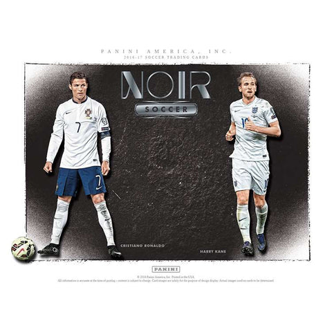 Noir Soccer Pick Your Country Case Break #4 FULL CASE (3 Boxes)