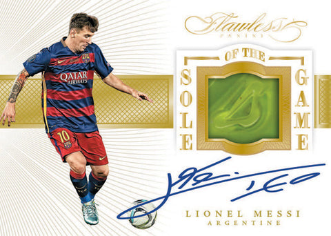 2016 Flawless Soccer 2nd Briefcase Pick Your Country Break Case #16(Luis Suarez PSA/DAN Auto Photo Giveaway Promo)