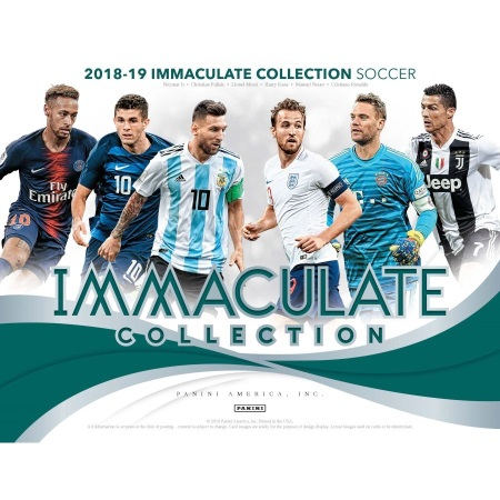 2019 IMMACULATE SOCCER HALF CASE(3 BOX) SERIAL NUMBER BREAK #1
