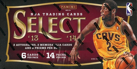 2013-14 Select Basketball Hobby Box