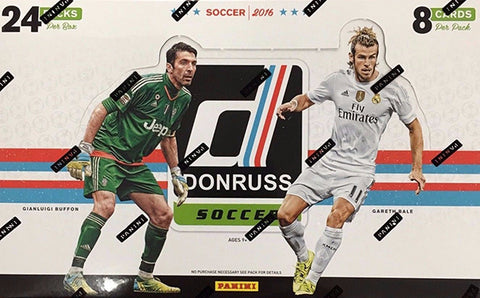 2016-17 Donruss Soccer Hobby Pack (Pulisic RC's)