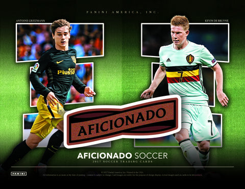 Aficionado Soccer Full Case(12 Box) PYT #1(Country and Club)