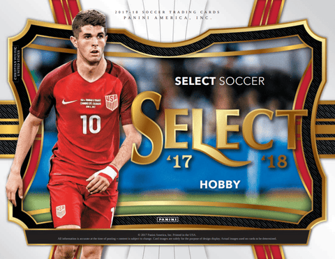 2017 Select Soccer Hobby Box