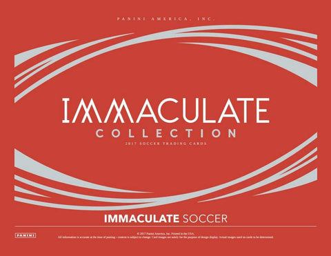Immaculate Soccer FULL CASE PYT #16 (Country)