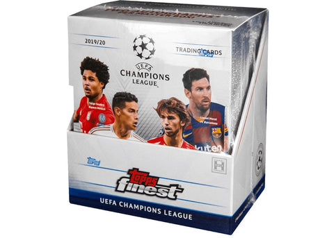 2019-20 Topps Finest Champions League Hobby 1 Box Random Packs #6 (Haaland RC's)