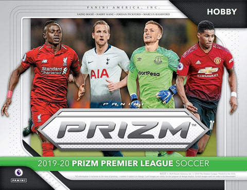2019 Premier League Prizm Hobby Box