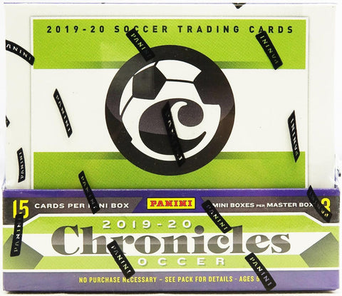 Chronicles Soccer Hobby Box