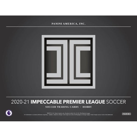 2020-21 Impeccable Soccer 3 Box Case PYT #1 (5/7 RELEASE DAY)