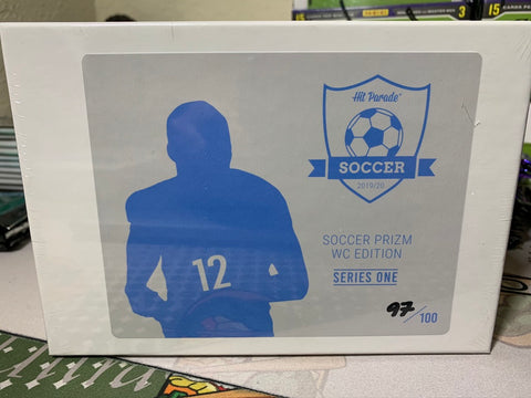 Hit Parade Soccer Prizm World Cup Edition Series One Box
