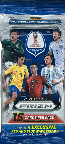 2018 World Cup Prizm Fat Packs (3 FAT PACK LOT)