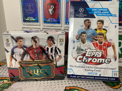MBAPPE 2 BOX RANDOM TEAM MIXER #1 (CHASE MBAPPE RC'S)