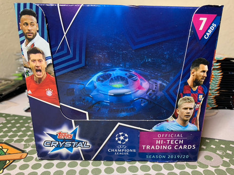 2019-20 Topps Champions League Crystal Pack (Haaland RC)