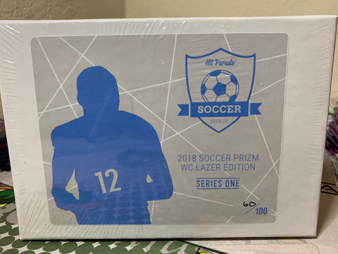 Hit Parade Soccer Prizm World Cup Lazer Edition Series One Box