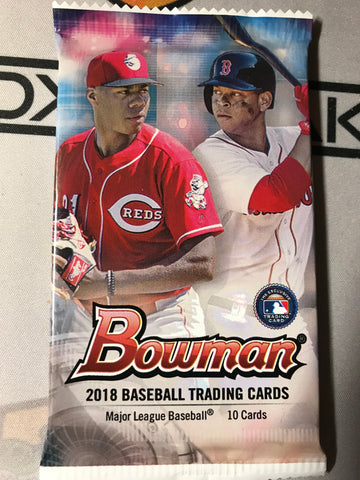 2018 Bowman Retail Packs (Lot of 5)