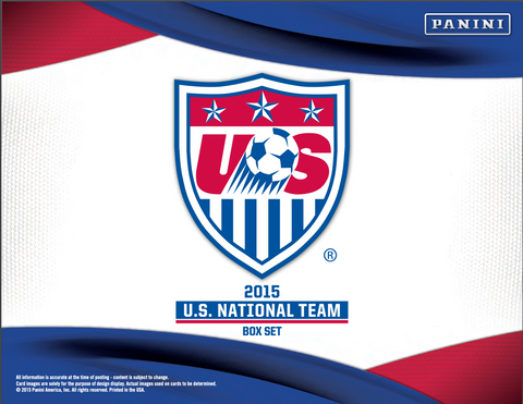 2015 PANINI USA BOX SET